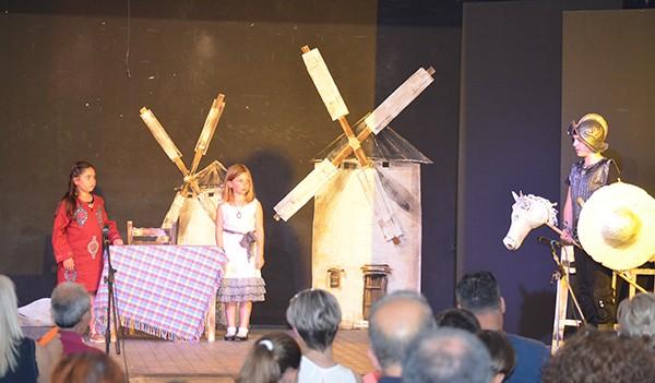 7ο δημοτικό Άνω Λιοσίων, σύλλογος γονέων και κηδεμόνων, θεατρική παράσταση