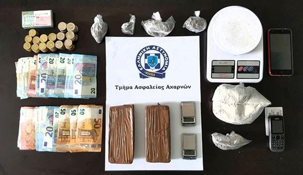 τμήμα Ασφάλειας Αχαρνών, ναρκωτικά, Ζεφύρι