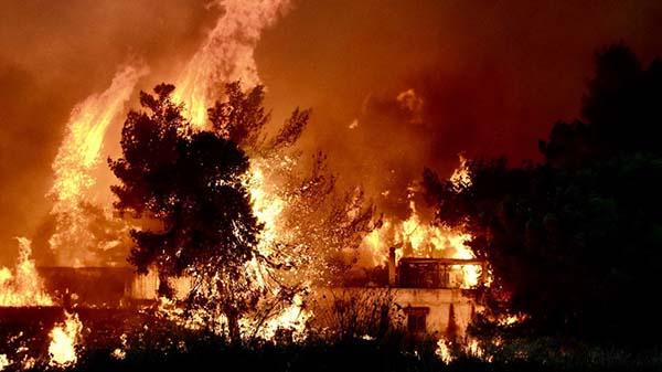 πύρινο μέτωπο Ραφήνας - Πικερμίου, πυρκαγιά, φωτιά, Μάτι, Ανατολική Αττική,