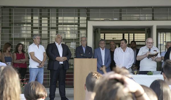 ΕΠΑΛ Αγίων Αναργύρων, Κώστας Γαβρόγλου, υπουργός Παιδείας, αγιασμός