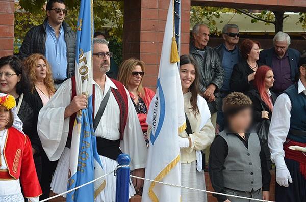 εθνική επέτειο, 28ης Οκτωβρίου, κατάθεση στεφάνων, Άνω Λιόσια