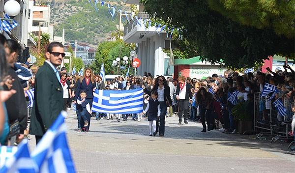 28η Οκτωβρίου, εθνική επέτειο, παρέλαση, μαθητές, 'Ανω Λιόσια,