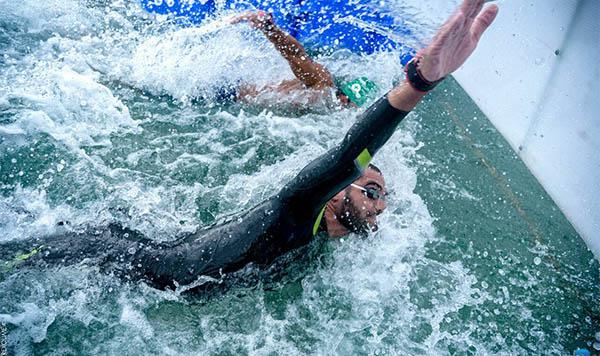 Σπύρος Χρυσικόπουλος, κολύμβηση, αθλητής μεγάλων αποστάσεων, ανοιχτή θάλασσα, Ρόδος, Καστελλόριζο