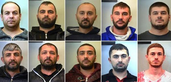 Αυτοί είναι οι ληστές που συνελήφθησαν σε Αχαρνές & Ασπρόπυργο και έκλεβαν φορτηγά και εμπορεύματα