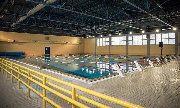 κλειστό Κολυμβητήριο, Δήμος Ιλίου