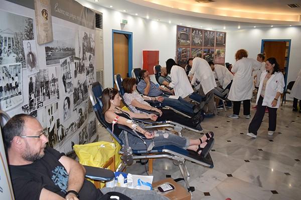 Τράπεζα Αίματος, εθελοντική αιμοδοσία