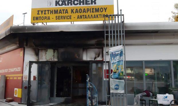 Εμπρησμός η φωτιά στο βενζινάδικο στα Άνω Λιόσια, πρατήριο υγρών καυσίμων