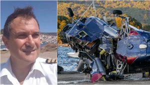 Νίκος Καρυστινός, πιλότος, πτώση ελικοπτέρου, Γαλατάς, Πόρος