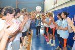 Ράνια Αλεβυζάκη, αγώνας καλαθοσφαίρισης, Ελληνική Αιματολογική Εταιρία