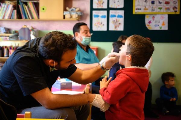 Πρόγραμμα Προληπτικού Οδοντιατρικού Ελέγχου, παιδικοί σταθμοί Ιλίου, Δημήτρης Κουκουβίνος, Ιωάννης Σεβαστόπουλος