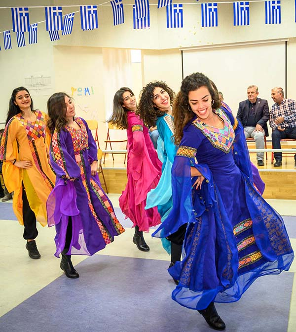 Το παλαιστινιακό χορευτικό συγκρότημα El-Funoun