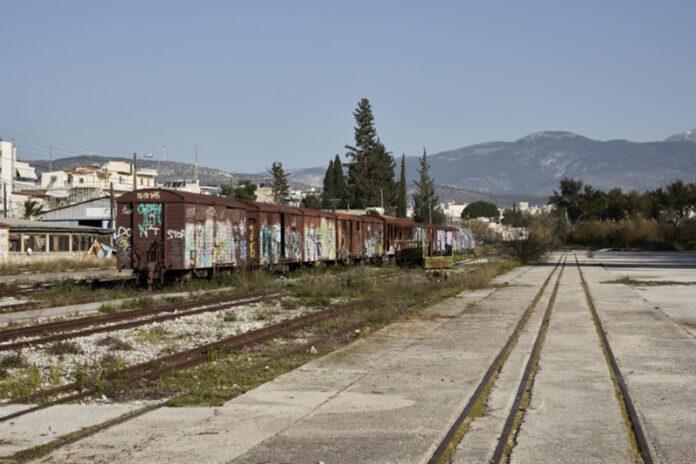 παλιά σιδηροδρομική γραμμή, Αγίους Αναργύρους, Άνω Λιόσια, παλιό αμαξοστάσιο του ΟΣΕ, Σταθμό Λαρίσης, Πάρκο Τρίτση,