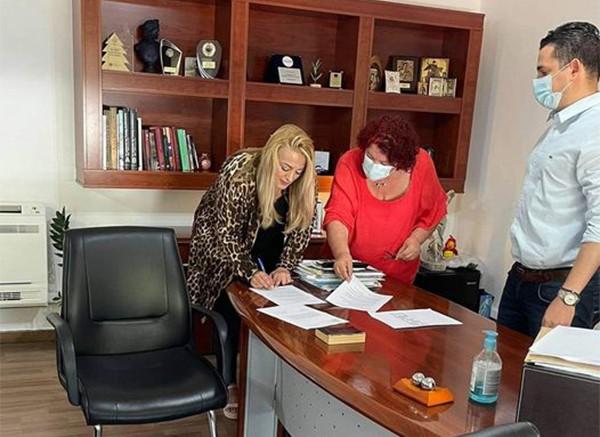 Ορκίστηκε δημοτική σύμβουλος η Μαρία Παπαναγιωτάκη στον Δήμο Αγίων Αναργύρων-Καματερού