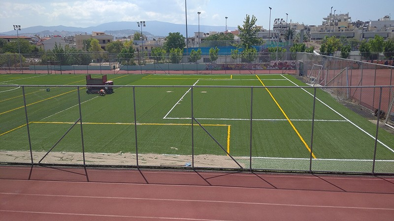 Αλλάζουν όψη γήπεδα και αθλητικοί χώροι στον Δήμο Ιλίου