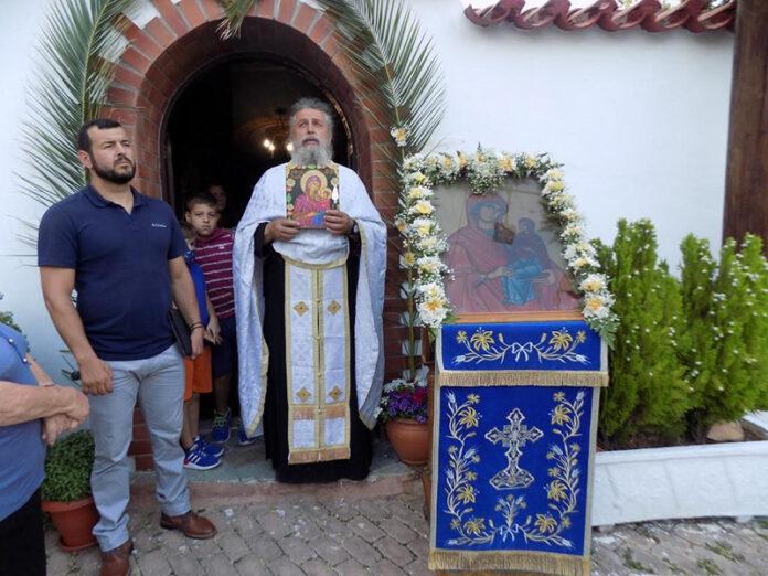 Την Κοίμηση της Αγίας Άννας στο ομώνυμο εκκλησάκι της γιόρτασε η Φυλή