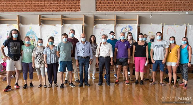 Αυλαία με καλή συμμετοχή για το ΑΘΛΗΤΙΚΟ CAMP του Δήμου Πετρούπολης