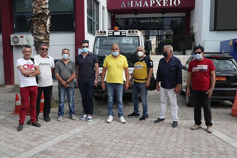 Νέο όχημα για την καθαριότητα απέκτησε ο Δήμος Φυλής μέσω του ΦΙΛΟΔΗΜΟΣ ΙΙ