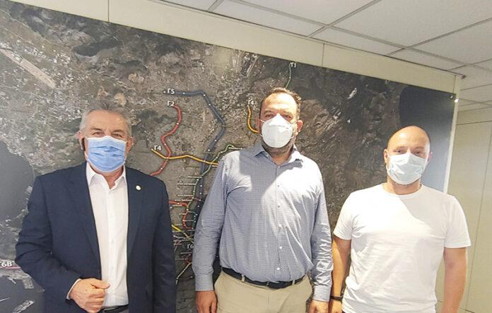 Μετρό στο Ίλιον: Τήρηση του χρονοδιαγράμματος ζήτησε ο Νίκος Ζενέτος