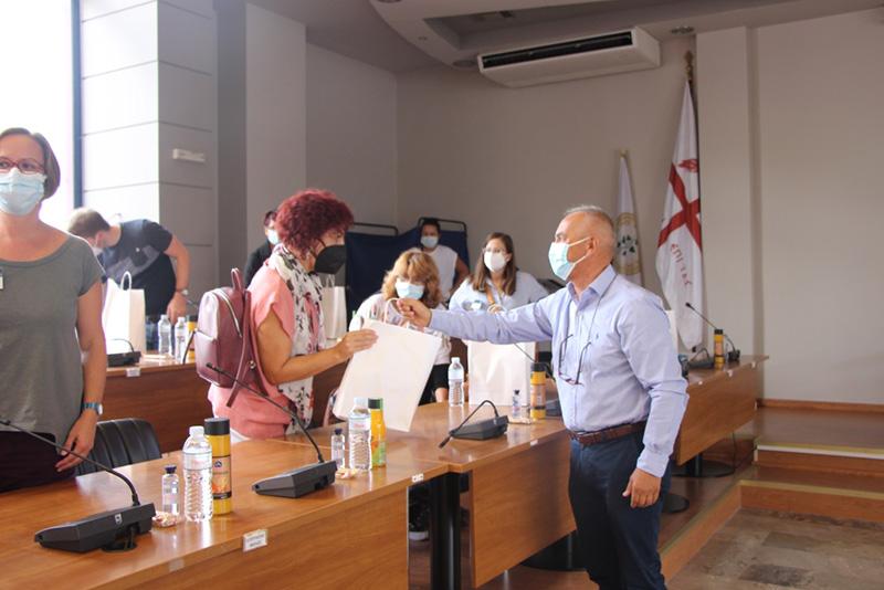 3ο Λύκειο Άνω Λιοσίων: Συμμετοχή σε περιβαλλοντικό πρόγραμμα Erasmus. Καθηγητές από την Ευρώπη στον Δήμο Φυλής
