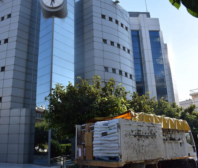 Δήμος Ιλίου: Δεκάδες τόνοι με ανθρωπιστική βοήθεια σε πυρόπληκτες περιοχές