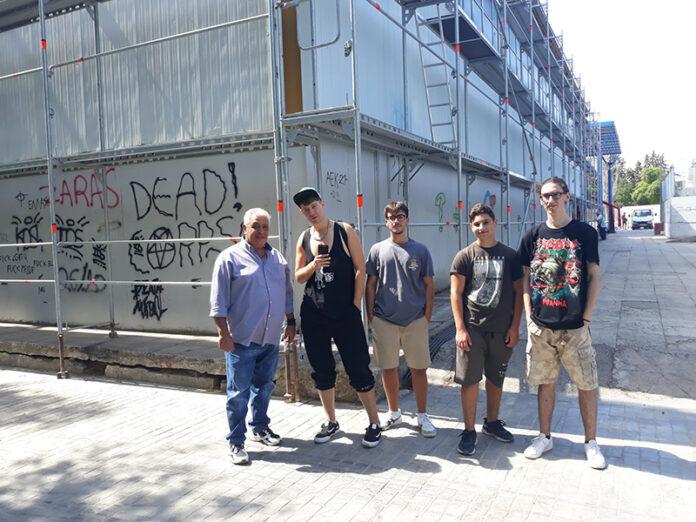 Τριήμερο Φεστιβάλ Graffiti στα Άνω Λιόσια με τη συμμετοχή νέων