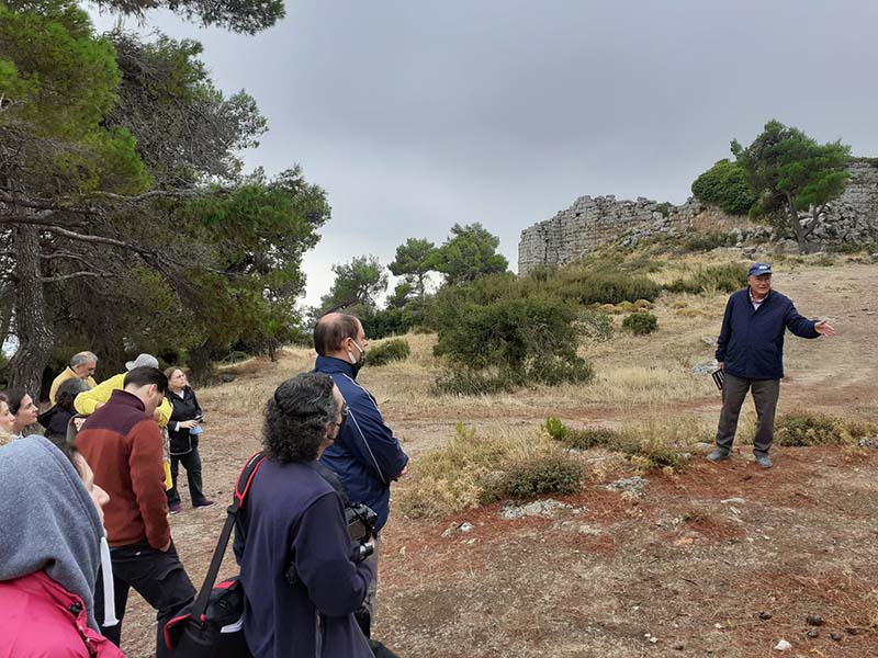 Στο σεισμικό ρήγμα της Φυλής στην Πάρνηθα ο σεισμολόγος Γεράσιμος Παπαδόπουλος